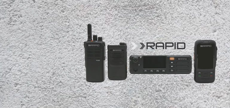 Rapid™ – High Speed two-way voice and data solutions